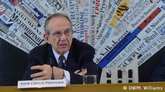 Ο ιταλός υπουργός Οικονομικών Πιέρ Κάρλο Πάντοαν