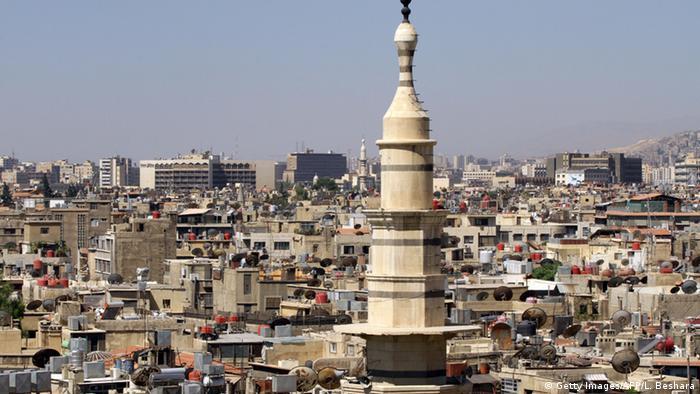 Вид на столицу Сирии Дамаск