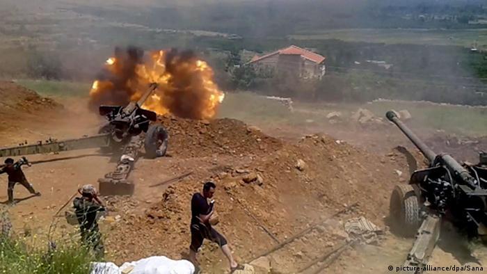 Syrien Angriff auf Sabadani (picture-alliance/dpa/Sana)