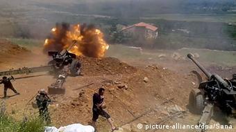 Syrien Angriff auf Sabadani