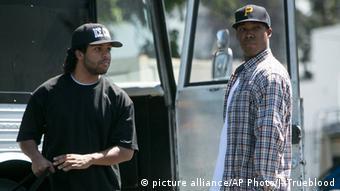 Scene from Straight Outta Compton, Copyright: picture alliance/AP Photo/J. Trueblood