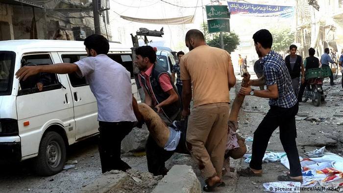 صحنهای از جنگ داخلی در دمشق (۱۲ اوت)