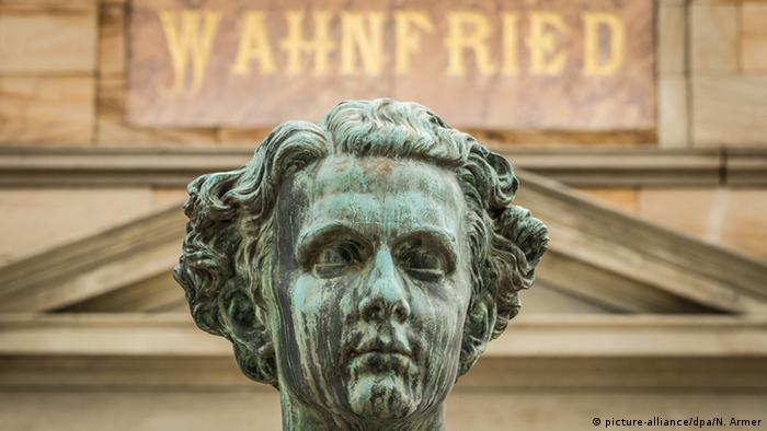 Villa Wahnfried Richard Wagner Museum in Bayareuth Büste König Ludwig II (picture-alliance/dpa/N. Armer)