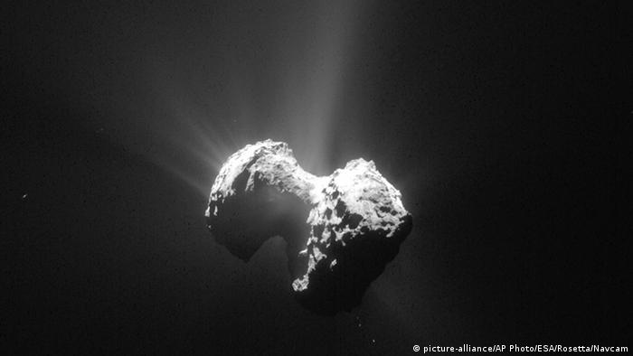 Rosetta Aufnahme vom Komet Tschuri