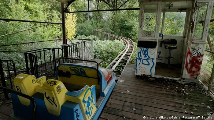 Deutschland Verlassener Spreepark in Berlin (picture alliance/Geisler-Fotopress/T. Bartilla)