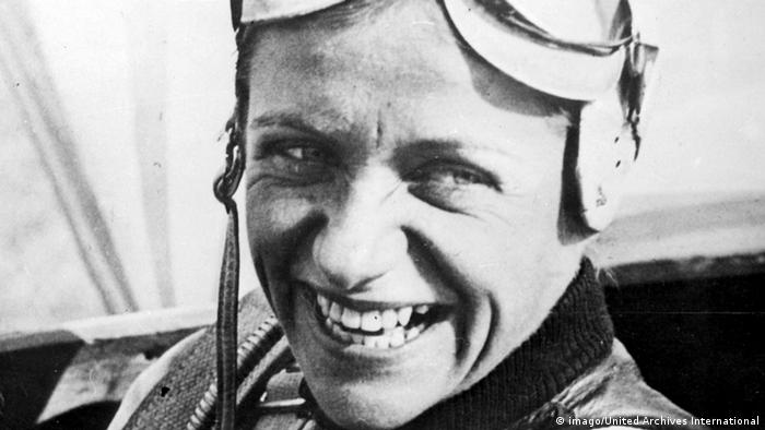 Die deutsche Pilotin Hanna Reitsch 