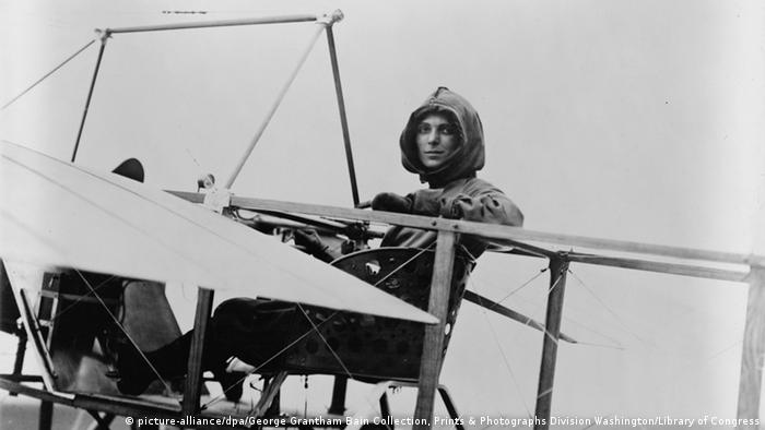 Die US-Pilotin Harriet Quimby