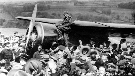 Die US-amerikanische Pilotin Amelia Earhart Foto: imago/United Archives International
