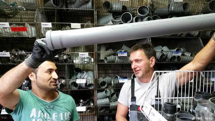 Deutschland Facharbeiter Flüchtling Jihad Maai
