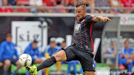 1. Bundesliga: Haris Seferovic von Eintracht Frankfurt in Aktion (Foto: picture alliance/Robin Rudel)