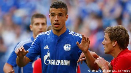 1. Bundesliga: Franco di Santo von Schalke 04 in Aktion (Foto: picture alliance/N. Schmidt)