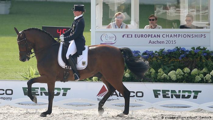 Aachen FEI Reit Europameisterschaften Isabell Werth