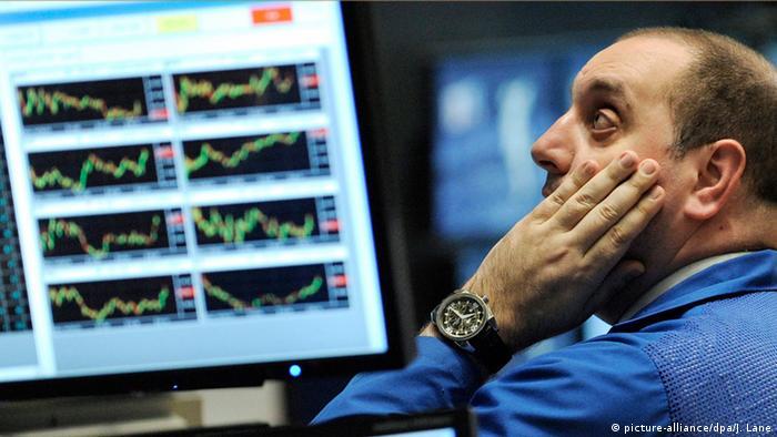 Börsianer (hier an der Wall Street) sind Kursturbulenzen gewohnt. Aber was bei Gamestop abgeht, ist schon besonders
