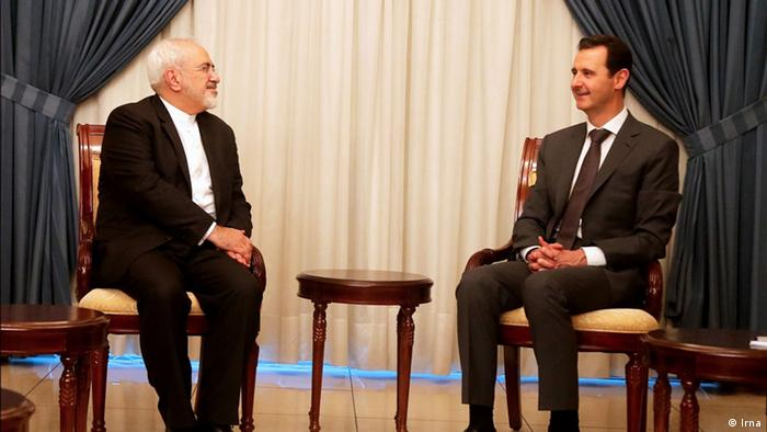 Syrien Treffen Baschar al-Assad und Mohammed Dschawad Sarif