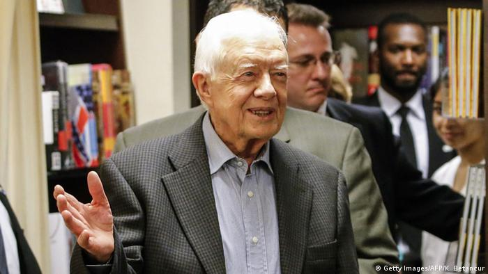 USA Ex-Präsident Jimmy Carter (Getty Images/AFP/K. Betancur)