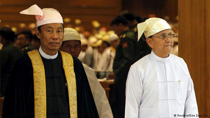 Head of Myanmar ruling party removed in power struggle ...