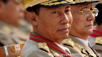 Myanmar Sprecher des Unterhauses Shwe Man und Präsident Thein Sein