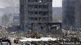 China Explosion in Hafenstadt Tianjin