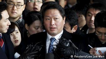 Südkorea Chey Tae-won Amnestie durch Präsidentin Park Geun Hye