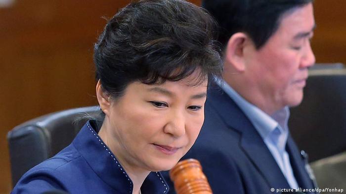 Südkorea Park Geun-hye (picture alliance/dpa/Yonhap)
