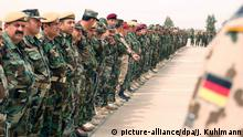 Irak Peschmerga-Ausbildung in Erbil