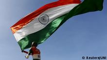 Indien Fan Nationalflagge