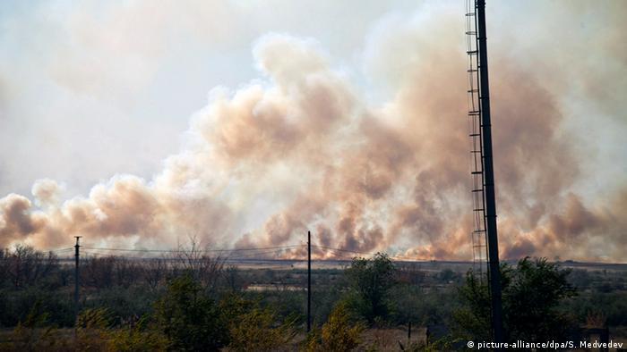 Russland Explosion in Orenburg