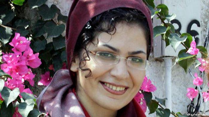 Iran Bahareh Hedayat inhaftierte Studentin (sahamnews)