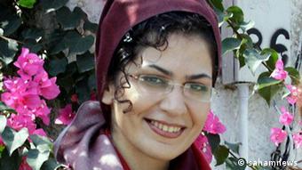 Iran Bahareh Hedayat inhaftierte Studentin