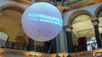 Kopfballspieler FIFA Kulturprogramm Weltfussball trifft Weltliteratur