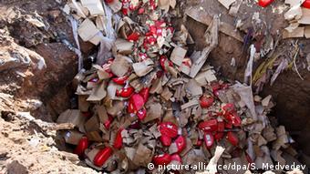 Уничтожение в России нелегально ввезенных подсанкционных продуктов из ЕС