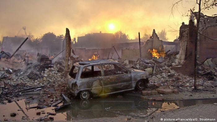 Niederlande Enschede Explosionskatastrophe 2000