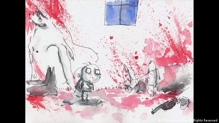 Tim Burton Kunstwerke