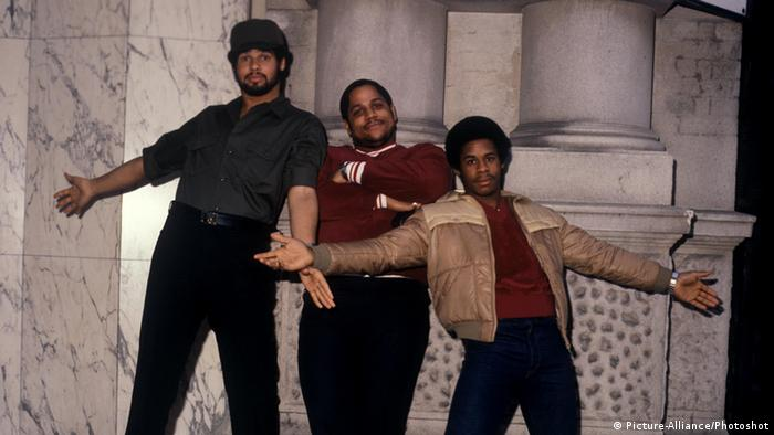 German rap group Sugarhill Gang in 1980, Copyright: Picture-Alliance/Photoshot