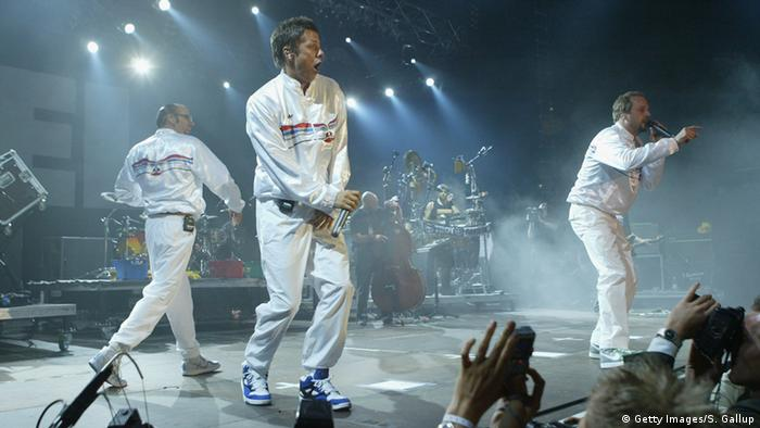 German rap group Die Fantastischen Vier in 2001, Copyright: Getty Images/S. Gallup