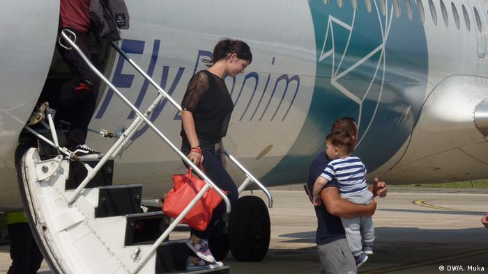 Albanien Tirana Rückkehr abgelehnte Asylbewerber