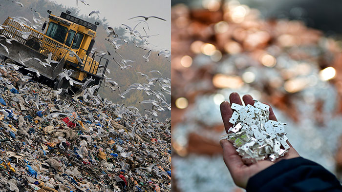 Recycling-Collage (Collage: DW).