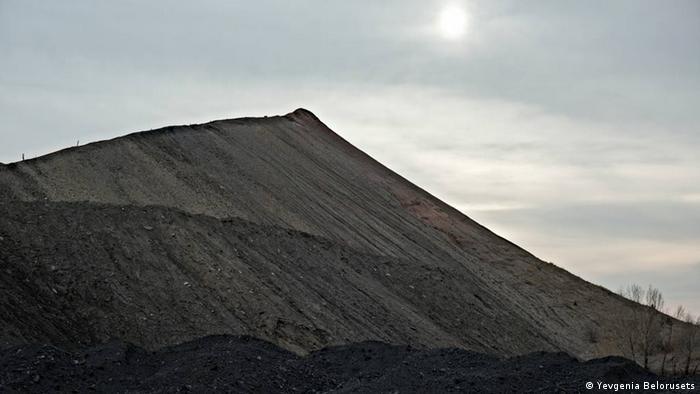 На угольной шахте в Лисичанске