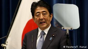 Japan Shinzo Abe Ansprache im Kabinett