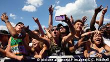 USA Lollapalooza Festival 2015 in Chicago