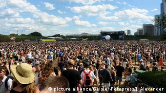 Lollapalooza-Festival 2015 in Chicago (Foto: picture alliance)