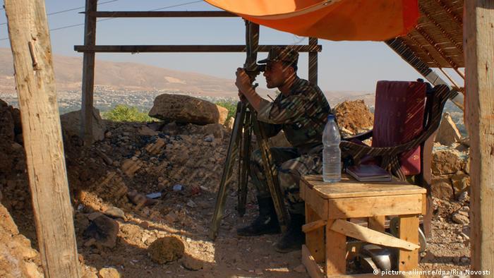Syrien Soldat Symbolbild Waffenstillstand Syrische Armee und Hisbollah