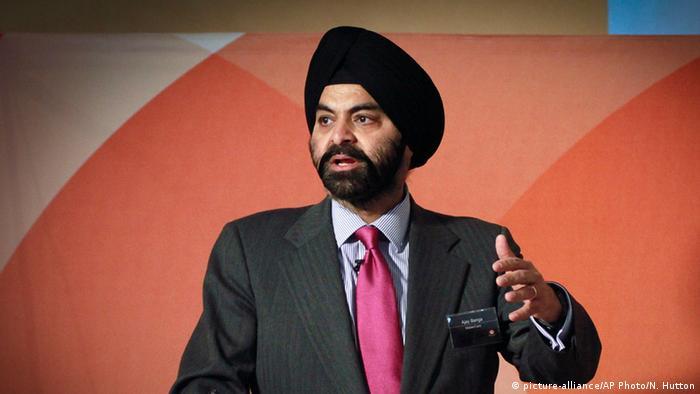 Ajay Banga CEO MasterCard