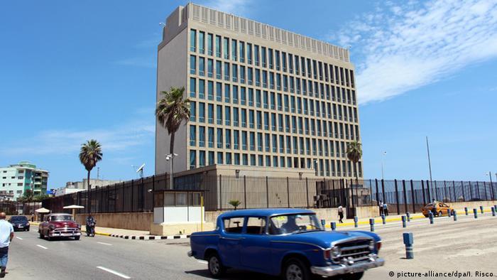Kuba Eröffnung der US Botschaft in Havanna (picture-alliance/dpa/I. Risco)