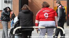 Fußball Fan Trikot Übergewicht Fußballfan