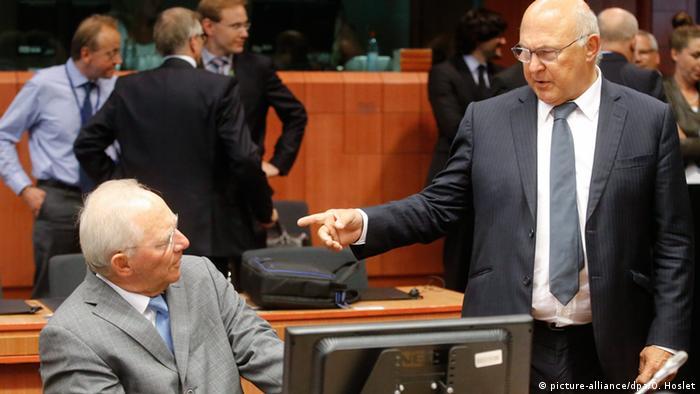 Euro Finanzgruppe Eurogruppe Treffen Brüssel Belgien