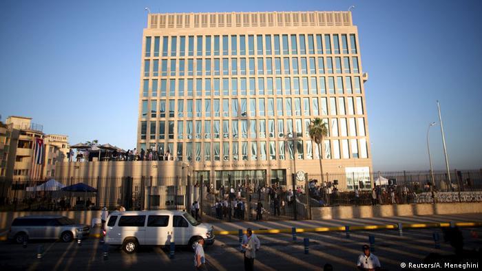 Funcionários da Embaixada dos EUA em Havana apresentaram sintomas misteriosos