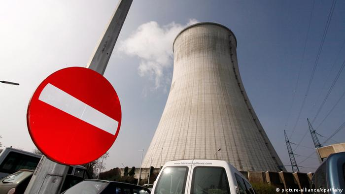 The nuclear plant at Tihange, Belgium