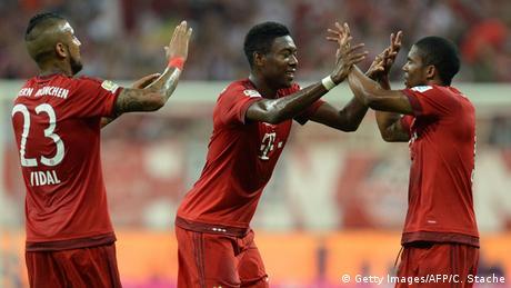 Bundesliga Bayern München gegen SV Hamburg