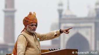 Indien Neu Delhi Narendra Modi Unabhängigkeitstag